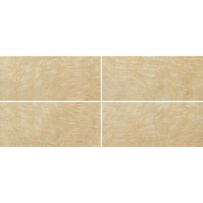 Exotic Ash Burl Wood Veneer Rawunbacked 4 Pc Pack - 16 X 36 Total