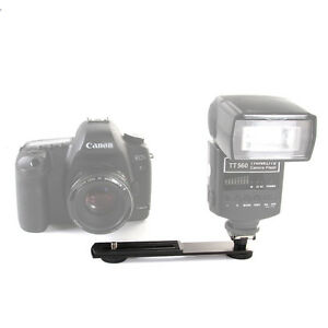 Metal Speedlite Speedlight Flash Bracket Holder for Canon Nikon Sony DSLR Camera