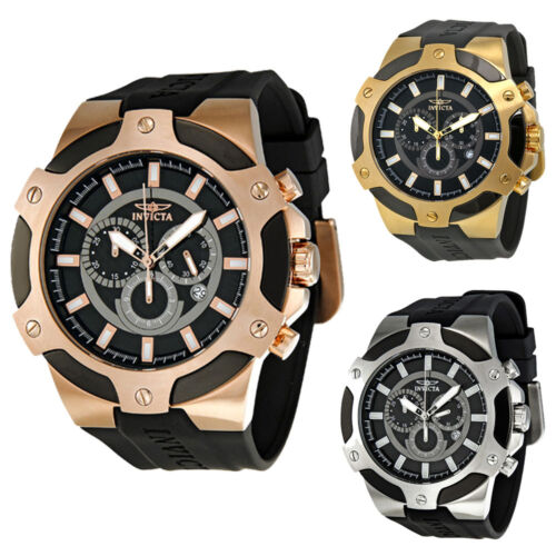 Invicta Signature II Chronograph Rose Gold-tone Mens Watch - Choose color