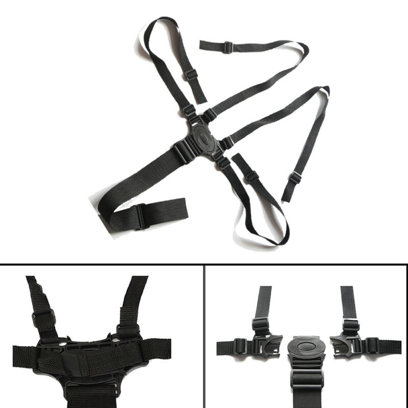 5 Point Baby Infant Safe Belt Strap Harness For Stroller High Chair