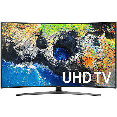 Samsung Un55mu7500fxza 54 6  Curved 4K Ultra Hd Smart Led Tv  2017 Model