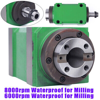 724 Taper Bt30 Mechanical Spindle Unit Power Head Cnc Drilling Milling Tool Hot