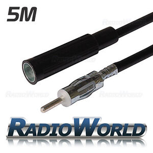 Car-Aerial-Extension-Cable-Anetnna-Adapter-5m