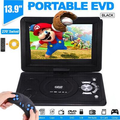 2in1 10.1 Tragbar DVD Player MP3 MP4 Spieler mit Auto Sitz Kopfstütze Halterung ()