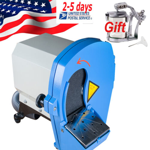 Dental Lab Machine Adjustable Platform Model Trimmer Grinder Wet Gypsum Trimmer