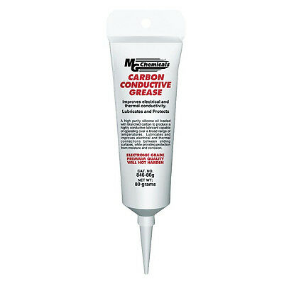 Mg Chemicals 846-80g Carbon Conductive Grease 80g Tub New