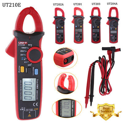 Uni-t Ut210e Digital Clamp Meter Multimeter Handheld Rms Acdc Mini Resistance