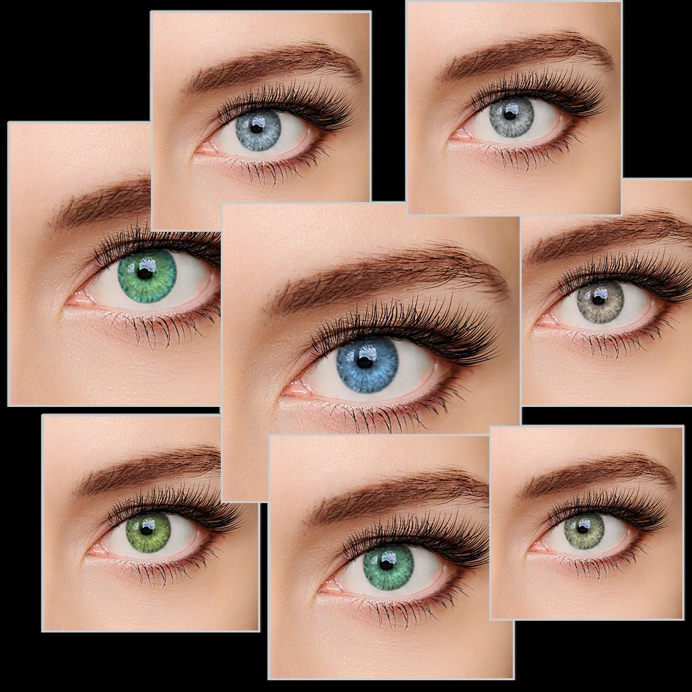 """ELFENWALD farbige Kontaktlinsen  """"INTENSE""""  natürlicher Look"""