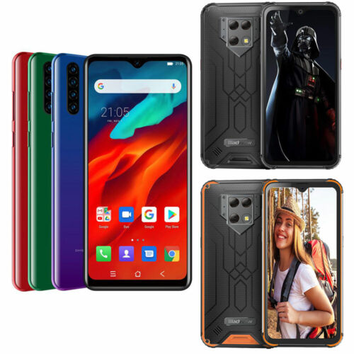 Blackview A80 Pro BV9800 A60 Pro Smartphone Handy Ohne Vertrag Android 9.0 48MP