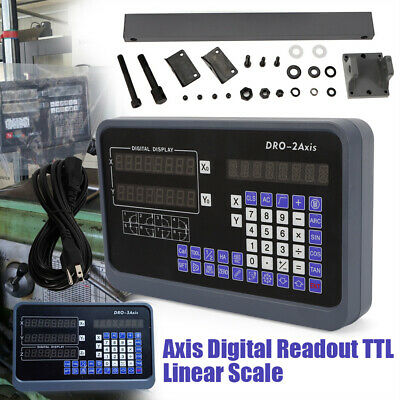 32axis Digital Readout Dro Display 5m Ttl Linear Scale Cnc Milling Lathe Kit