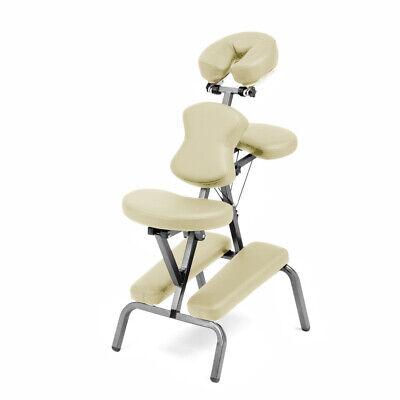 portable foldable steel massage chair w bag