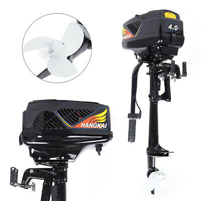 4hp 48v Electric Outboard Trolling Motor 1000w Fishing Boat Engine Propeller Us