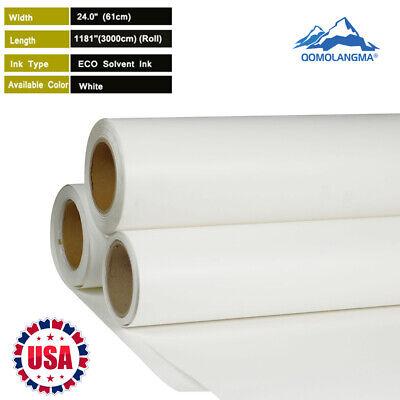 Usa 24 X 98 Htv Roll White Color Printable T-shirt Fabric Heat Transfer Vinyl