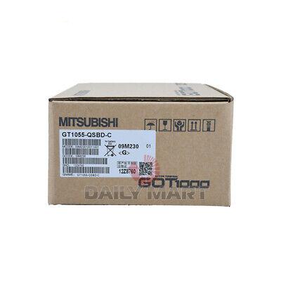 New In Box Mitsubishi Gt1055-qsbd-c Plc Hmi Touch Screen Operator Display Panel