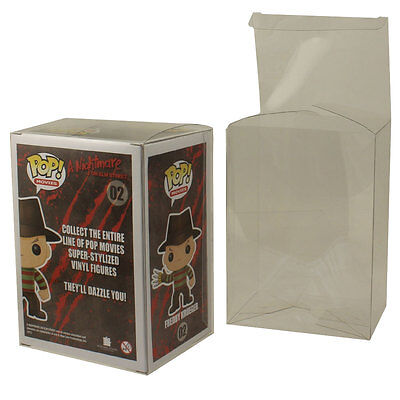BCW - Funko POP! Figure Figurine CLEAR STORAGE PROTECTOR BOXES - PACK OF 6 - New