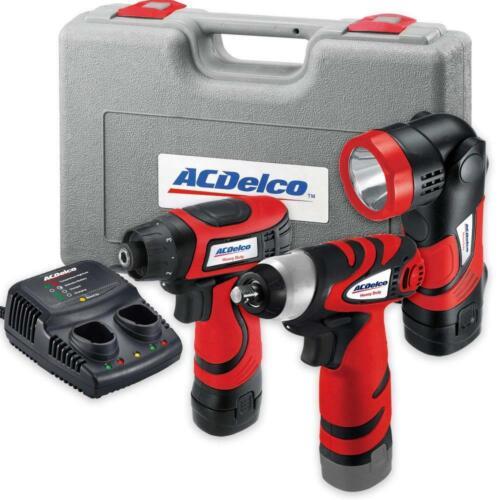 AcDelco ARD847Li Cordless 8V Li-ion Drill Driver Impact Wren