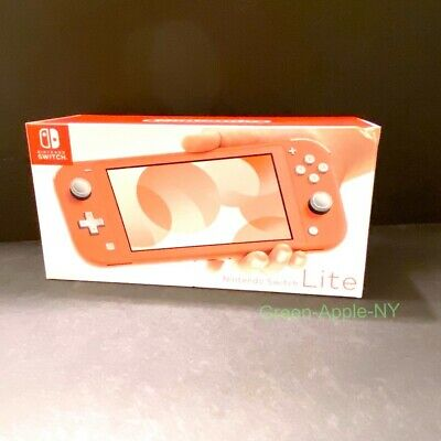 Nintendo Switch Lite Handheld Game Console (CORAL) PINK New Sealed Free Ship