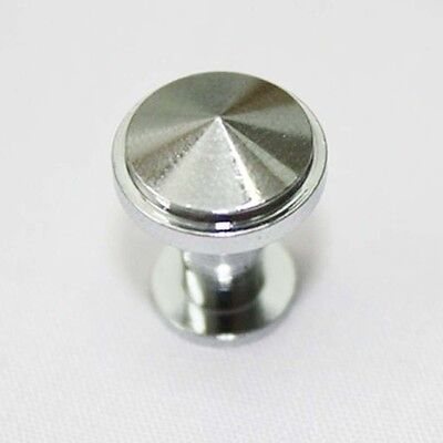 10 pcs Chrome 13 mm Mini Knobs Box Doll Toy Small House Door Drawer Pulls CM313