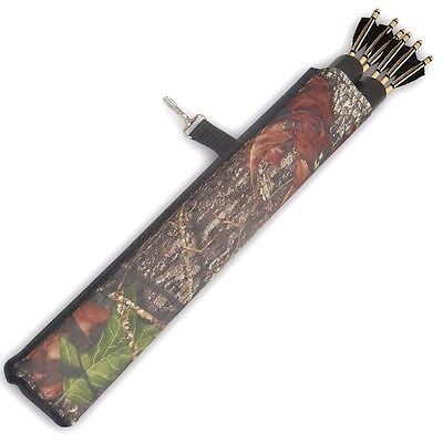 "MOHICAN 2 TUBE HIP/SIDE.BELT/WAIST ARROW QUIVER WITH HOOK 17"" LONG.1529CAMO"