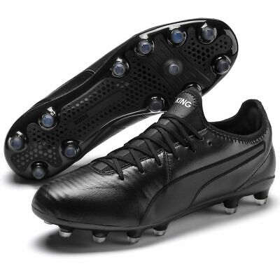 PUMA Men's KING Pro FG Football Boots - Various Sizes - Black - New