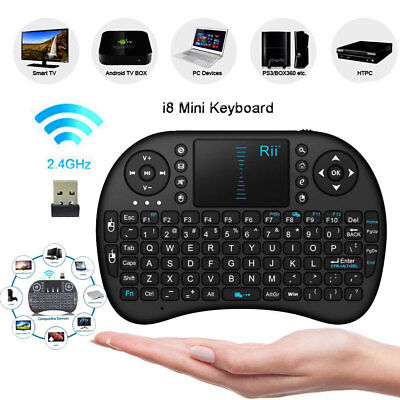 Mini i8 2.4G Wireless Keyboard Rii Air Mouse Remote Control Android TV Box PC