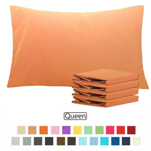 1800 Pillow Case Set-Queen Size - Set of 4 Pillow Cases - Ul