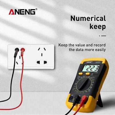 Lcd Digital Multimeter 1999 Dc Ac Voltage Diode Freguency Test Multitester A830l