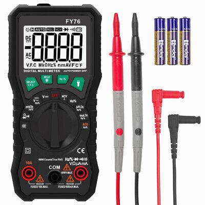 Digital Multimeter Auto Range Ac Dc Voltmeter Ammeter Ohmmeter Volt Tester Meter