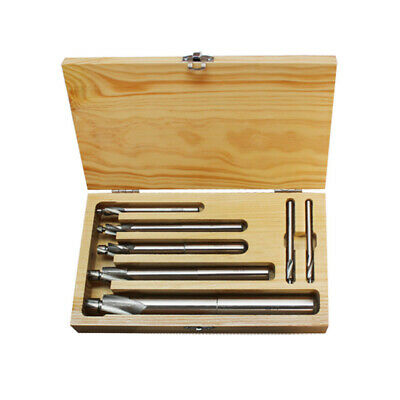 7 Pcs HSS Solid Cap screw Counterbore Set 6# 8 10 1/4 5/16 3/8 1/2 Sizes