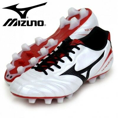 NEW MIZUNO Soccer Spike Shoes MONARCIDA 2 SW MD P1GA1822 White With Tracking ()