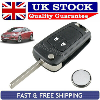 2 Button Remote Key Fob Case Repair Kit For Vauxhall Opel Insignia Zafira Mokka