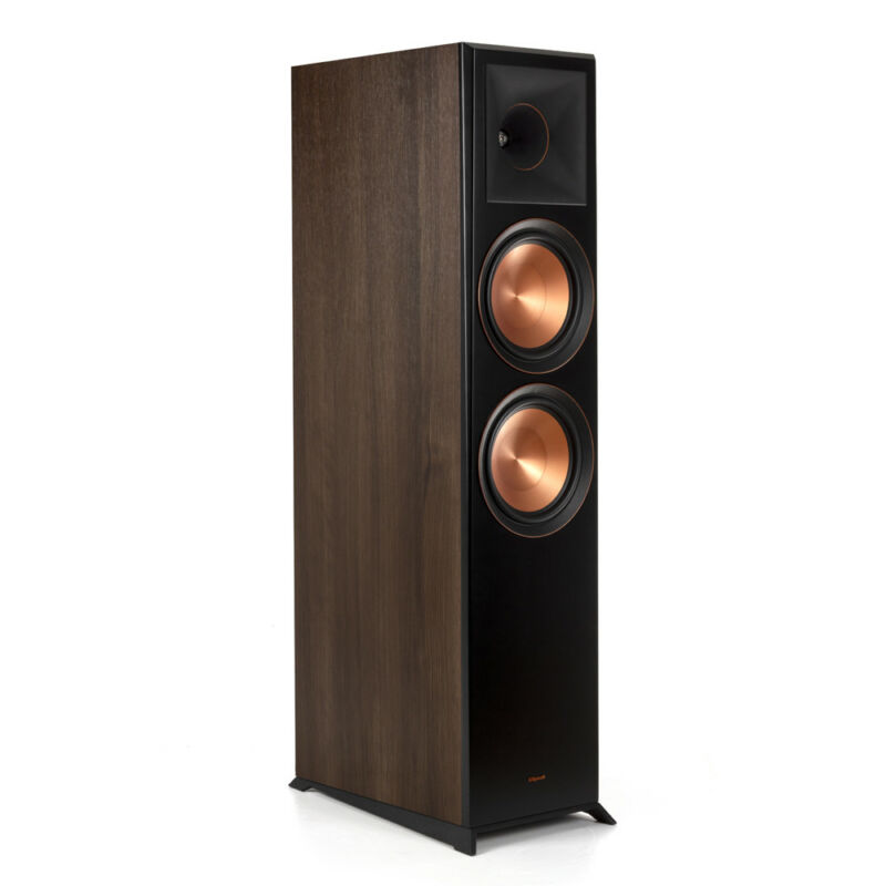 Klipsch Rp-8000f Walnut Floorstanding Speaker - Each
