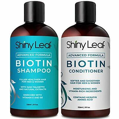 Biotin Shampoo and Conditioner Set for Hair Loss Treatment f