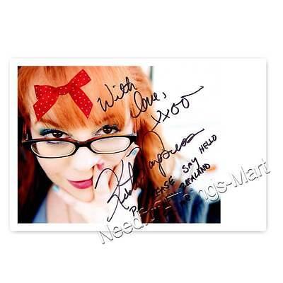 Kirsten Vangsness alias Kirsten Vangsness aus Criminal Minds -  Autogrammfoto 