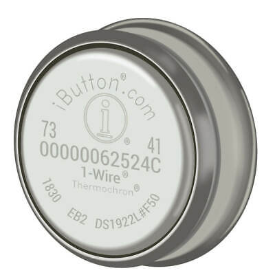 Maxim Integrated Ds1922l-f5 Temperature Logger Ibutton With 8kb Datalog Memory