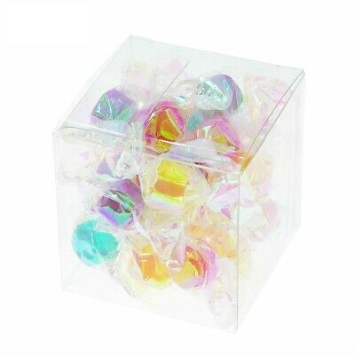 Lot of 50/100/200Pcs Clear PVC Candy Boxes for Party Wedding Favor Gift Cupcakes