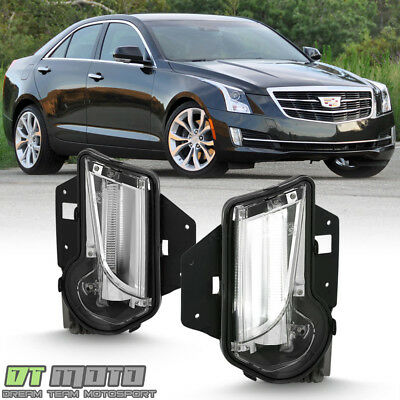 NEW 2013-2017 Cadillac XTS Bumper Driving Fog lights LED Daytime Running Lamps