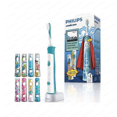 PHILIPS HX6311/07 Sonicare For Kids Rechargeable sonic electric toothbrush