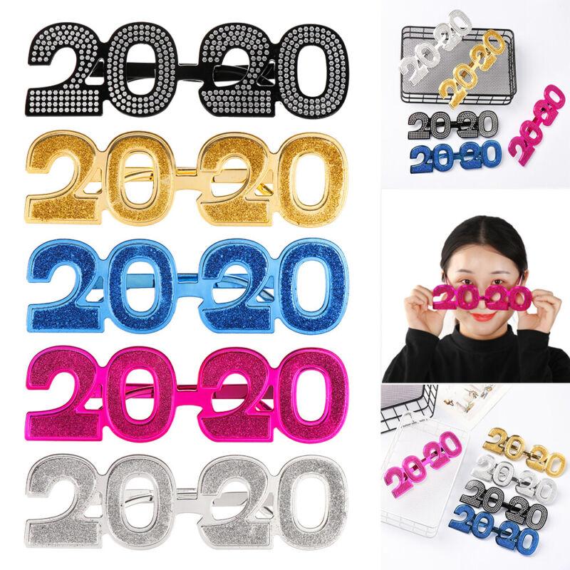 Year Party New Year Eyeglass Photo Prop Funny Glitter Eyewea