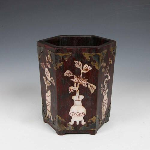 ANTIQUE CHINESE QING SCHOLAR