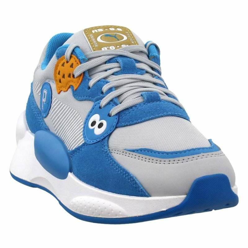 Puma Sesame Street 50 Rs 9.8 Lace Up    Kids Boys  Sneakers Shoes Casual   -