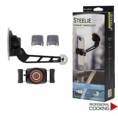Steelie Soporte Para Teléfono Inteligente Con Imán Y Ventosa para Automóvil