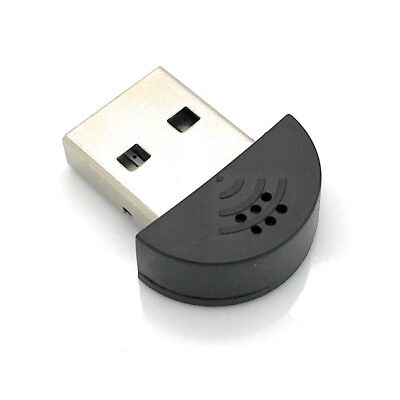 USB 2.0 Mini Mikrofon Stecker für Windows PC, Mac, Linux, Raspberry Pi Mikrophon