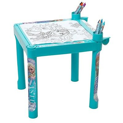 Disney Frozen Colouring Table and Colouring Roll, Kids Creative Art Desk