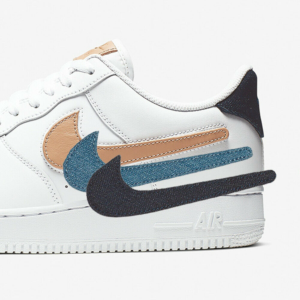 Nike Mens Air Force 1 07 LV8 3 Removable Swoosh Pack AF1