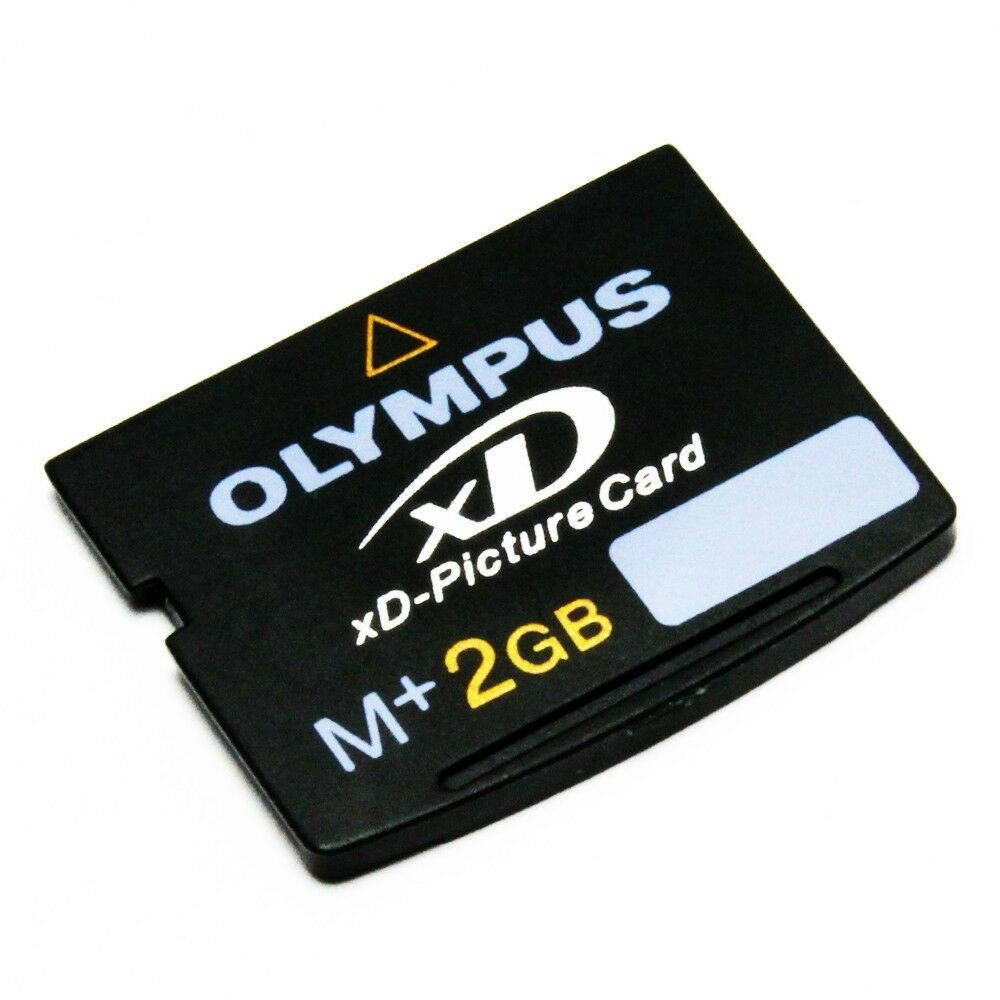Olympus 2 GB XD-Picture Card Type M+, For Olympus and Fujifilm Cameras,MXD2GM3