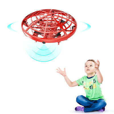 Mini Drone Quad Levitation Hand Control Operated UFO 360° Toy Helicopter For Kid