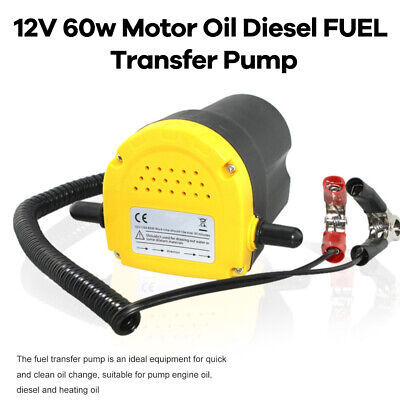 12V Motor Best Oil Transfer Change Pump Tool Diesel Extractor Scavenge (Best Oil Extractor Pump)