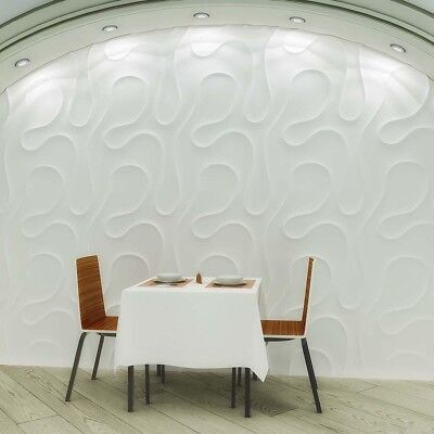 Veil 3d Decorative Wall Panels 1 Pcs Abs Plastic Mold For Plaster