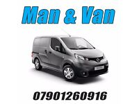 MAN AND VAN REMOVAL TRANSPORT DELIVERY